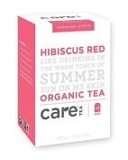 Care Tea Hibiscus Red Tea, 18 Count