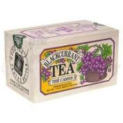 Black Currant Tea, 25 bags in a decorative wooden box