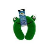 Bulk Buys Terry Frog Travel Pillow-16-Pack