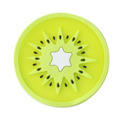 Set of 5 Lovely Fruit Cup Mats Kitchenware Round Coasters Bowl mats,FRUIT GREEN