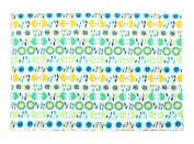 Set of 2 Lovely Cloth High-grade Place Mats Colourful Mats kitchenware,33*48cm