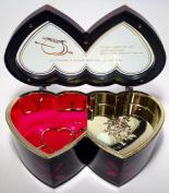 Two Heart Musical Jewellery Box