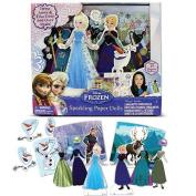 Disney Frozen Sparkling Paper Dolls