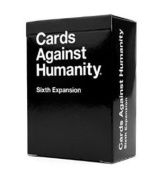 The Sixth Expansion for Board Games Cards Game Against Humanity