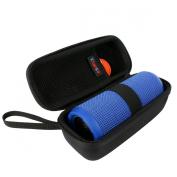 Khanka Hardshell EVA Storage Carrying Travel Case Bag for JBL Flip 1 / 2 / 3 Splashproof Portable Bluetooth Speaker