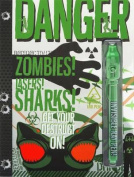 Danger Zombies Lasers Sh-W/Pen