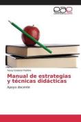 Manual de Estrategias y Tecnicas Didacticas [Spanish]
