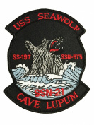 USS Seawolf SSN-21 Patch