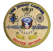 USS Jimmy Carter SSN-23 Patch