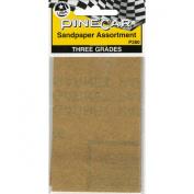 Pine Car Derby Sandpaper Assortment-