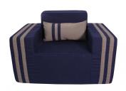 SOFTBLOCK Outdoor/Indoor Kids Chair, 29 x 50cm x 46cm , Navy