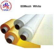 "1 Yard 80 mesh x50"" Width Silk Screen Fabric (80Mesh"
