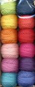 Valdani Size 8 Perle Cotton Embroidery Thread Ewe-niversity Paint Box Collection