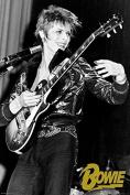David Bowie Guitar Poster - 24x36