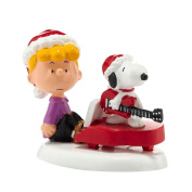 Department 56 Peanuts Village Schroeder/Snoopy's Christmas Decorative Accessory, 5cm