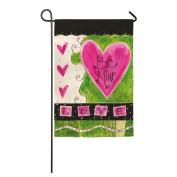 Valentines Day Garden Flag Be Mine