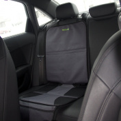 Car Seat Protector by Drive Auto Products - Best Protection for Child & Baby Car Seats, Dog Mat - Protects Automotive Vehicle Leather or Cloth Upholstery, 100% Satisfaction Guaranteed!