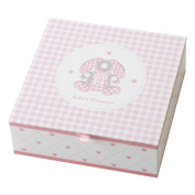 Gingham Bunny Keepsake Box