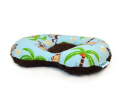 Lazy Lambert ErgoPillow - Monkeys and Bananas Flat Head Pillow