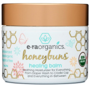 Healing Ointment for Babies 60ml USDA Certified Organic Natural Healing Cream for Baby Eczema, Cradle Cap (Infant Seborrheic Dermatitis), Chapped Nose, Rashes, Hives & More
