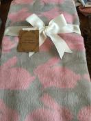 Bamboo Baby Blanket Pink Bunnies