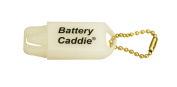Hearing Aid Battery Caddy with Keychain