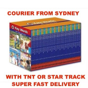 Ladybird KEY WORDS With PETER AND JANE 36 Books Slipcase Box Set Hard Cover New | COURIER FROM SYDNEY WITH TNT EXPRESS OR STAR TRACK | SUPER FAST