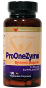 WellnessOne ProOneZyme Best Proteolytic Systemic Enzymes with Nattokinase and Seaprose - 90 capsules