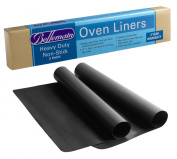 Oven Liner Heavy Duty by Bellemain , 2 Pack for Electric, Gas and Microwave Ovens up to 80cm