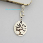 Tree of Life - Cell Phone Dust Plug/ Earphone Jack Plug ,Anti-dust Plug Ear Cap 3.5mm for Iphone Ipod.for for for for for for for for for Samsung 65292; Nokia and Htc