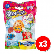 Shopkins Clip On Plush Hanger Figures Mystery Pack