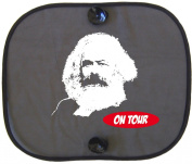 KARL MARX Constructivism ON TOUR Car Sun Shade for Children