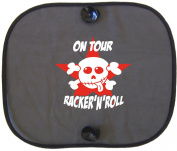 Gadget ´ N ´ Roll ON TOUR Rocko Star Car Sun Shade for Children