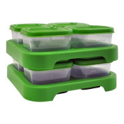 Pack of 1 x Green Sprouts Food Storage Cubes - 8 Pack