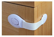 GS33 SYSTEM 7pcs Baby Drawer Cupboard Cabinet Door Drawers Lengthened Safety Lock Latch