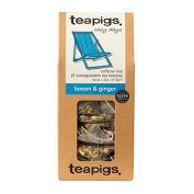Teapigs Lemon & Ginger Tea 50bag - CLF-TP-4020 by Teapigs