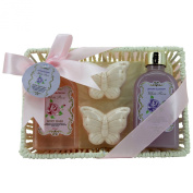 Gloss! Lemon Blossom Bath Gift Set - 4-Piece