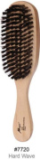 Magic Collection Hard Wave Brush Natural Boar Bristle Satin Finish Natural Wood Handle # 7720