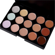 Butterme Professional 15 Colours 3D Radiance Cream Concealer/ Highlight/ Face Contour Camouflage Palette Dull/ Redness Skin Face Contouring Cosmetic Kits