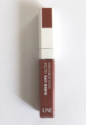 UNE Sheer Lips Gloss Lipgloss ~ S19 ~ Dark Pink