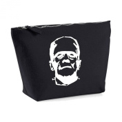 Frankenstein His And Hers Matching Canvas MakeUp Bag Toiletry Case Gift Cosmetic Clutch