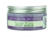 Sally Miller Lavender and Lime Foot Scrub 200 g