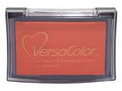 Tsukineko Full-Size VersaColor Ultimate Pigment Inkpad, Orange