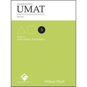 UMAT Series 2 Book 3 Non-verbal Reasoning by Mohann Dhall