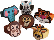 Jungle Animals Moulded Rings