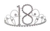 Signature Tiara 18th Birthday Silver with Clear Crystal Tiara