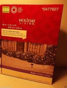 Holiday Living 0.9m X 1.2m Cool White LED Solar Mini Christmas Net Lights
