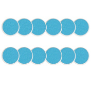 Zoli Baby Buzz B Replacement Pads, Set of 12, Blue