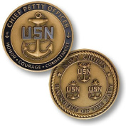 Chief Petty Officer - Navy Chiefs Challenge Coin by Northwest Territorial Mint