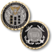Coast Guard CW & WOA Yorktown Chapter Challenge Coin by Northwest Territorial Mint